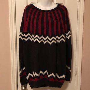 GAP | Zigzag Pattern Knitted Sweater